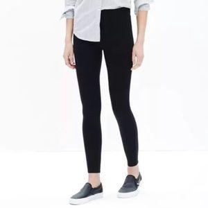 Madewell Black Everyday Knit Leggings Sz S